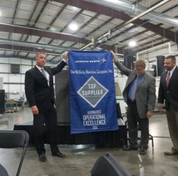 Lockheed recognizes Wichita's McGinty Machine with award