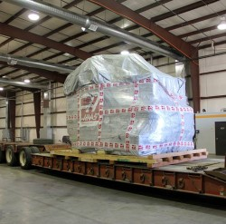 New Equipment Arrives at McGinty Machine