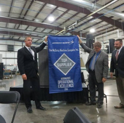 Lockheed recognizes Wichita's McGinty Machine with award