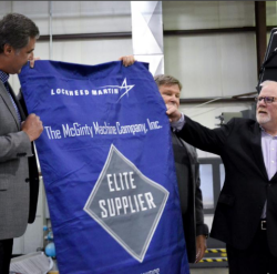 Wichita's McGinty Machine Co. wins elite supplier status from Lockheed Martin
