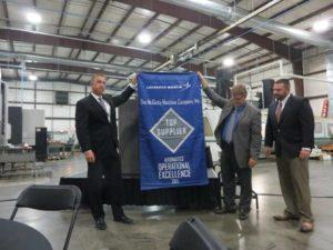 Lockheed banner presentation